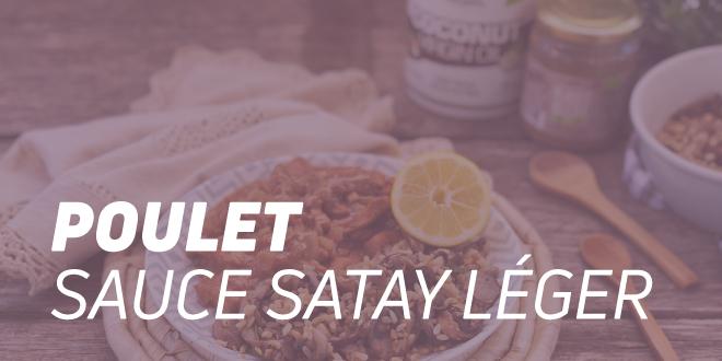 Poulet à la sauce Satay