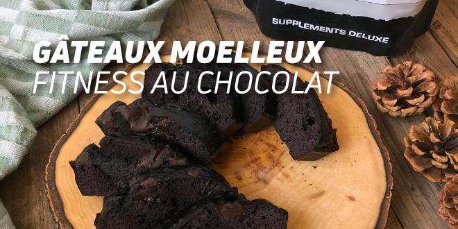 Gâteaux Moelleux Fitness au Chocolat
