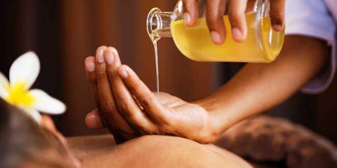 Massages à l'Aloe vera