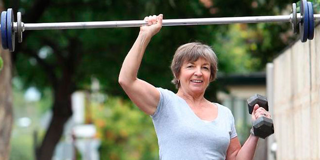 Exercice pour les personnes âgées