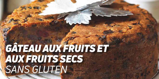 Gâteaux aux fruits et fruits secs sans gluten