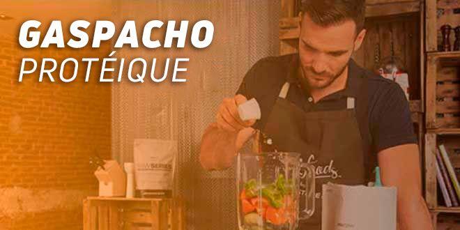 Gaspacho Protéique par Saúl Craviotto