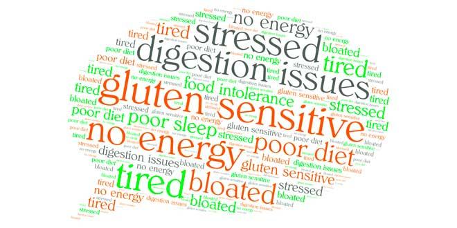 Symptômes de la sensibilité au gluten