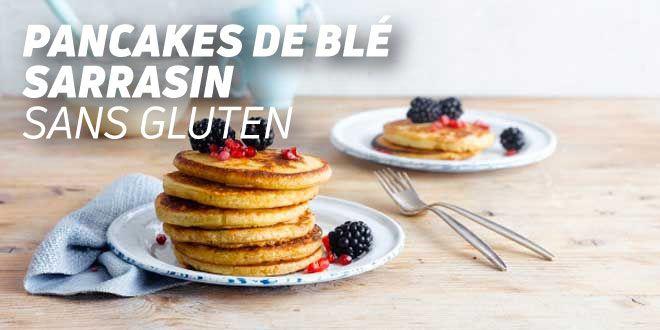 Pancakes de Blé Sarrasin Sans Gluten
