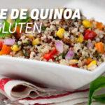 Salade sans gluten
