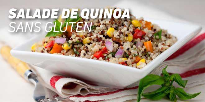 Salade de Quinoa de Couleurs sans Gluten