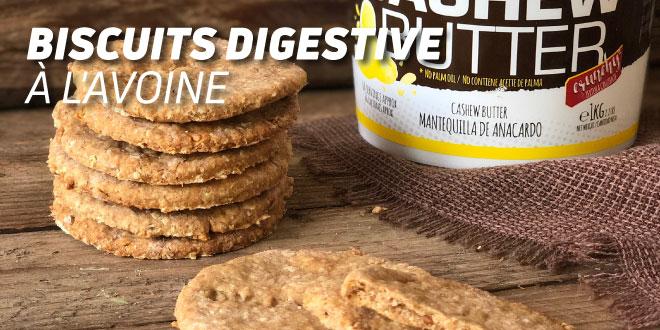 Biscuits Digestive (Biscuits à l'Avoine)