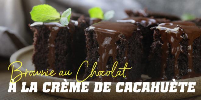Brownie au Chocolat avec du Beurre d'Arachide