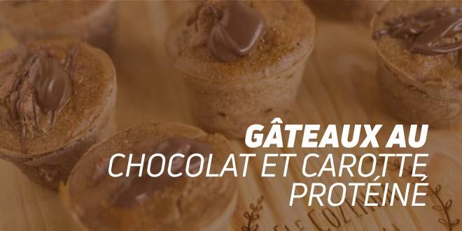 Gâteau de Chocolat et Carotte Riche en Protéines