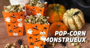 Pop Corn Monstrueux
