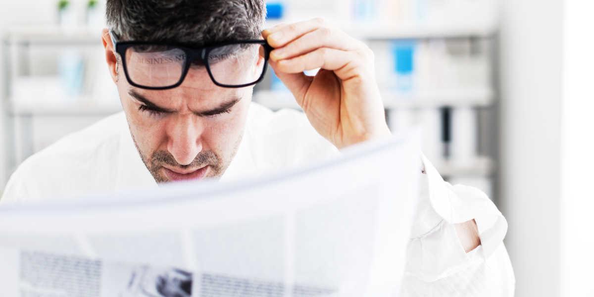 Problèmes de vision de l'excès de B12