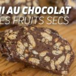 Salami au chocolat et fruits secs