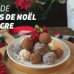 Bonbons sans sucre de Noël