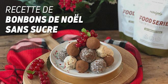 Recette de Bonbons de Noël sans Sucre