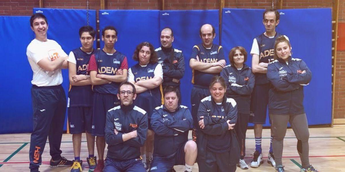 Membres de la team Ademo