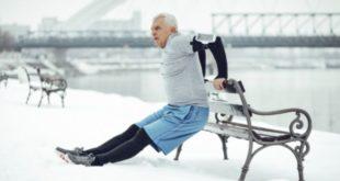 Collagene et entraînement, personnes âgées