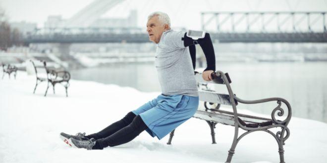Collagène et entraînement, personnes âgées