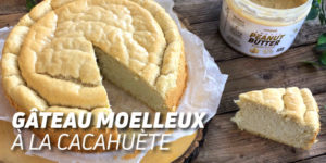 Gâteau Moelleux à la Cacahuète