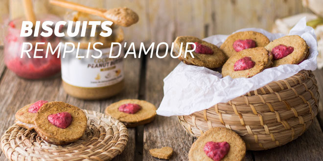 Biscuits Remplis d'Amour