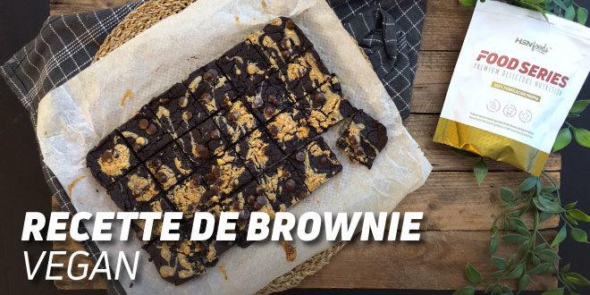 Brownie Végétalien