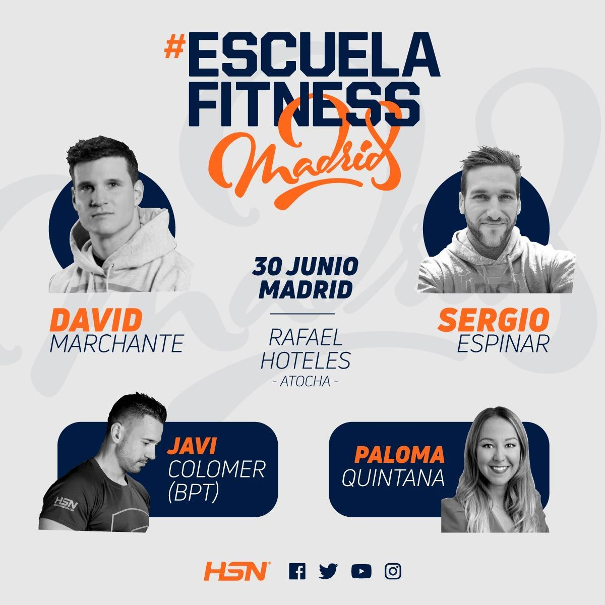 École Fitness à Madrid