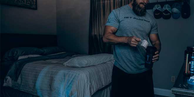 Protéine avant dormir