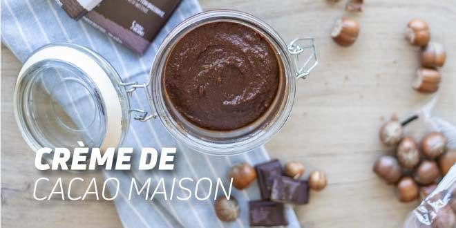 Pâte à tartiner au Cacao et Noisettes