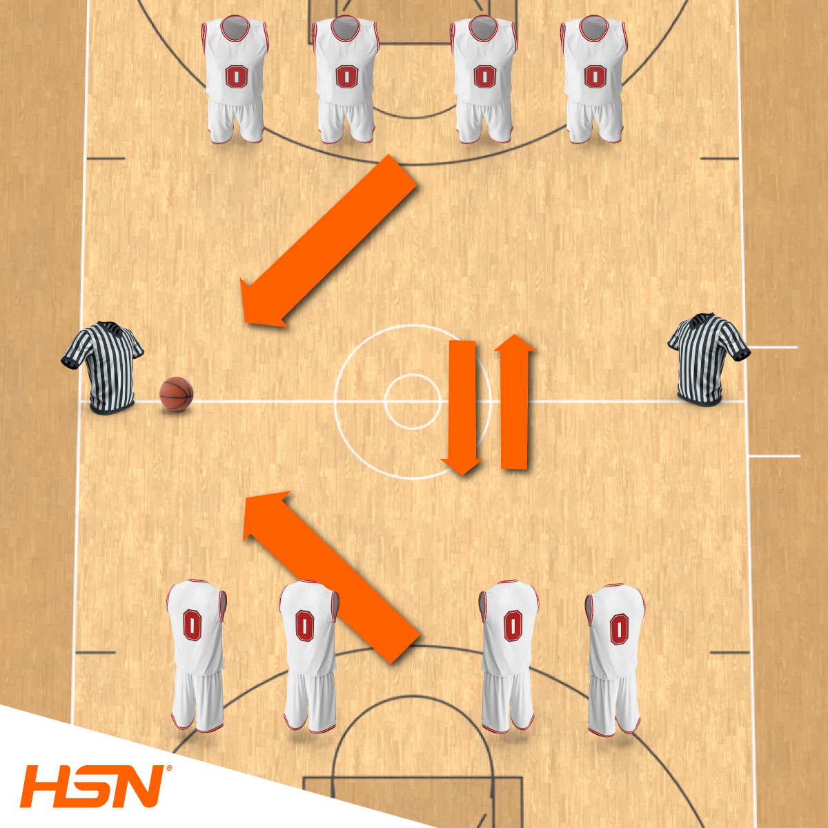 Entraînement fonctionnel de basket