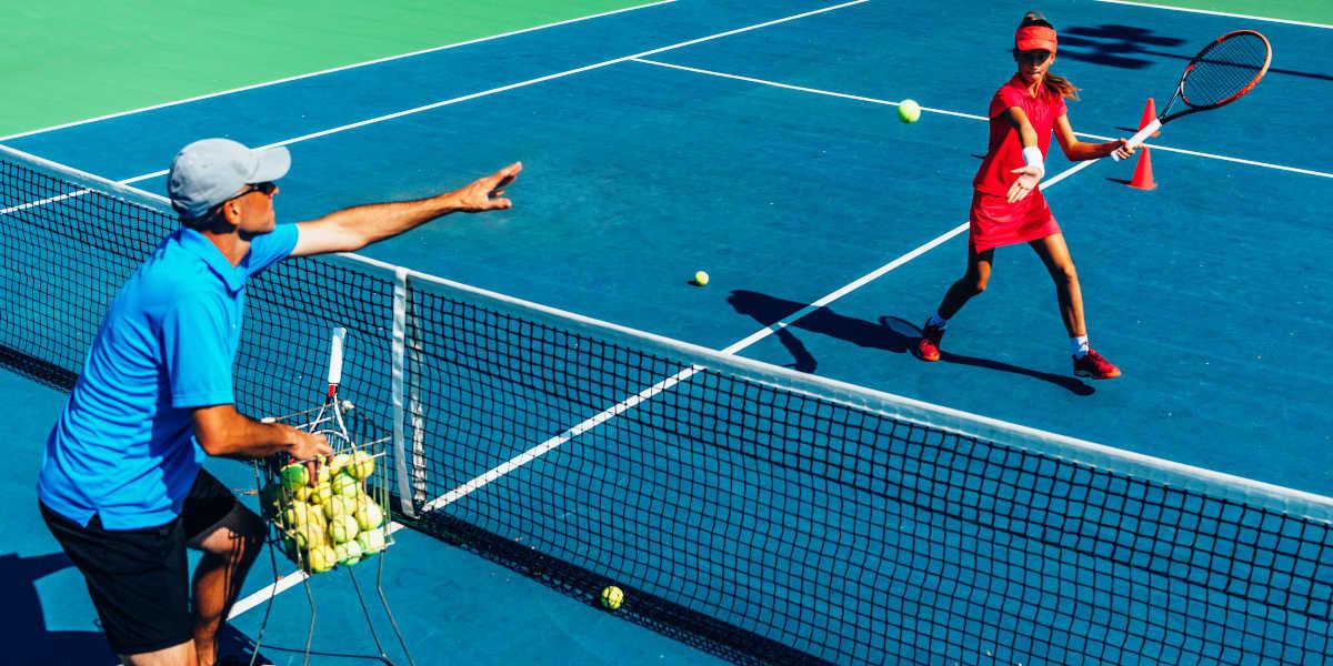 Intensité et durée élevée du tennis