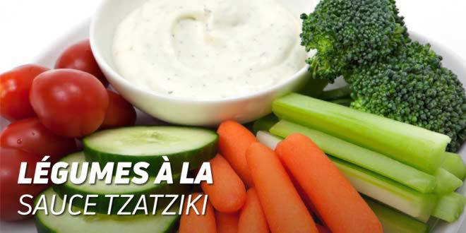 Légumes à la Sauce Tzatziki