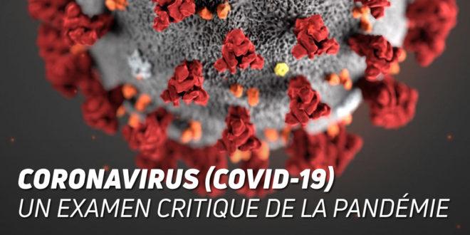 CORONAVIRUS COVID-19: Un Examen Critique de l'Épidemie