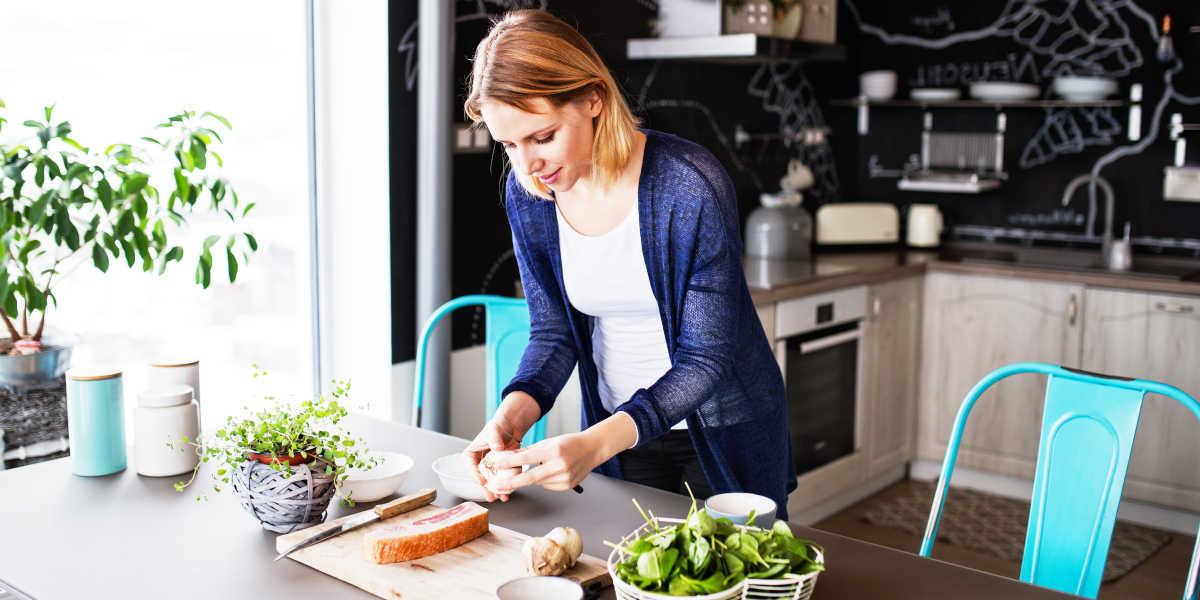 Cuisinez à la maison en Quarantaine
