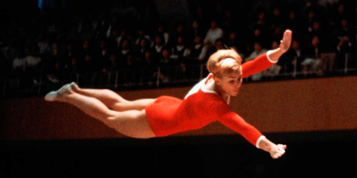 Larissa latynina, médailleuse olympique