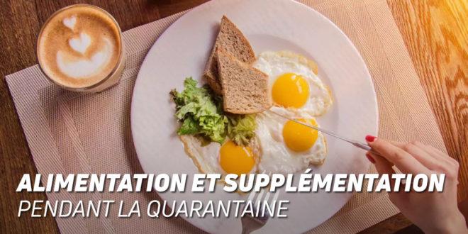 Alimentation et Complémentation dans la Quarantaine