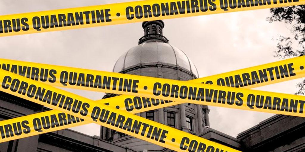 Quarantaine et virus