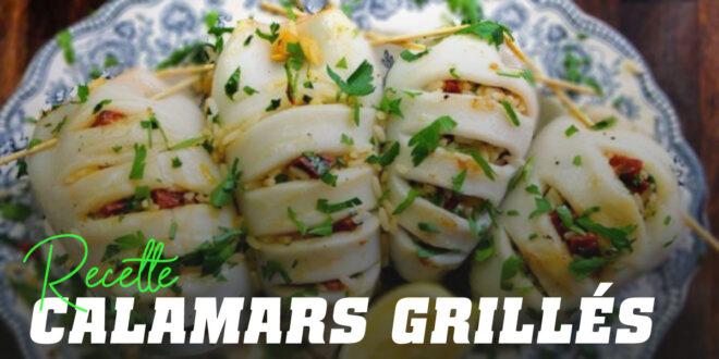 Calamars grillés