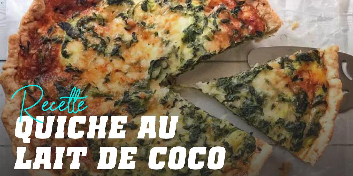 Quiche au Lait de Coco et Légumes