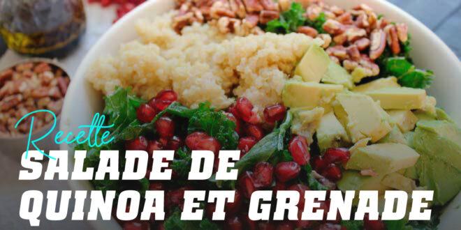 Salade de Quinoa et Grenade