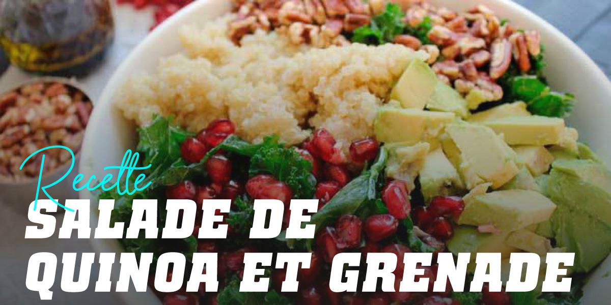 Salade Complète de Quinoa et Grenade
