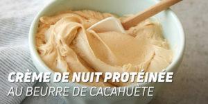 Crème protéique cacahuète