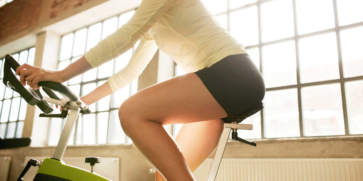 Entraînement indoor de Cyclisme