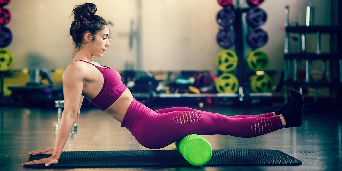 Femme sportive et vitamines