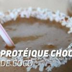 Shake protéique Chocolat Noix de Coco