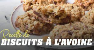 Recette biscuits à l'avoine