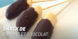 Snack de Banane et Chocolat