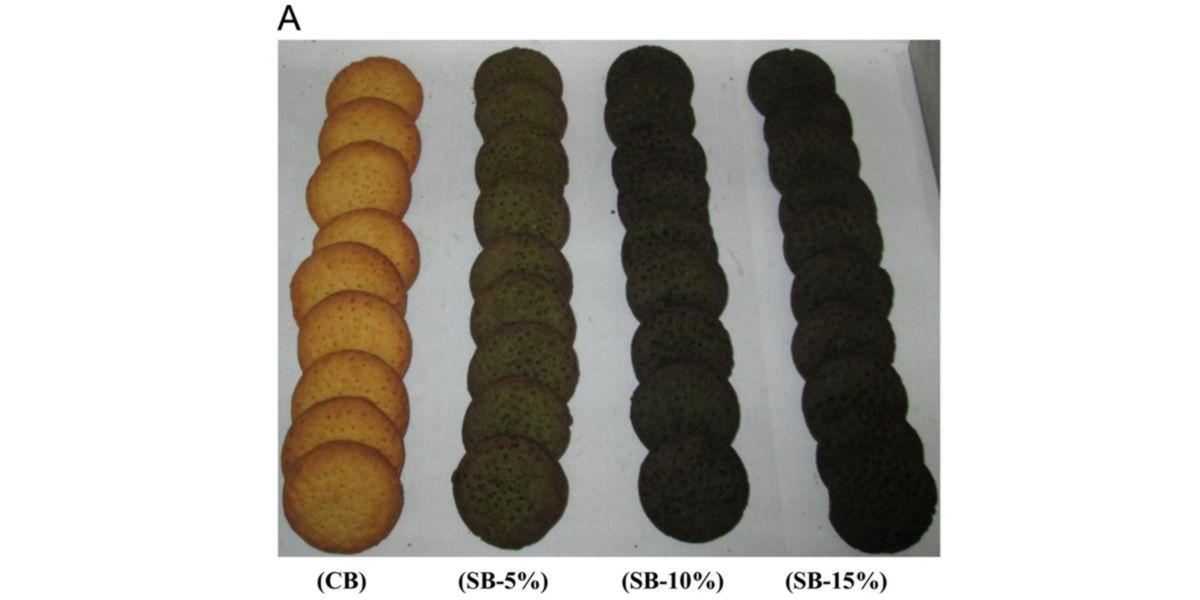 Biscuit aux épinards