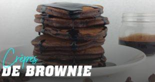 Pancakes au Brownie