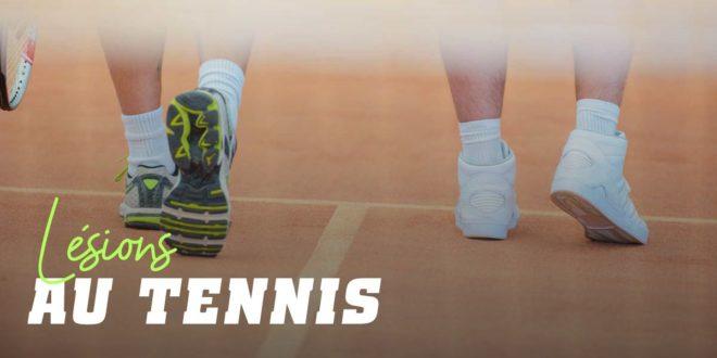 Comment et Pourquoi les Joueurs de Tennis se blessent-ils?