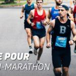 Régime pour un semi-marathon