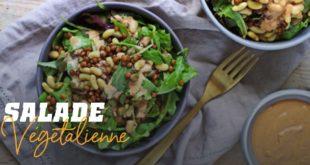 Salade végetalienne